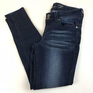 Seven7 Jeans - Seven7 Womens Jeans Size 2 Skinny Leg Legging Dark